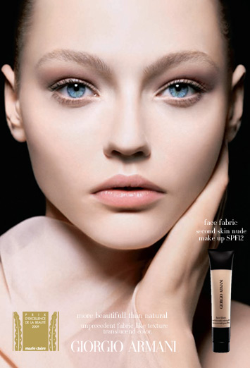 Ugens produkt: Giorgio Armani Face Fabric Foundation