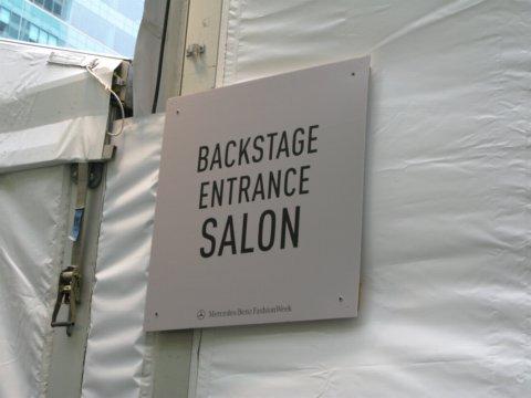 Backstage Alexandre Herchovitch
