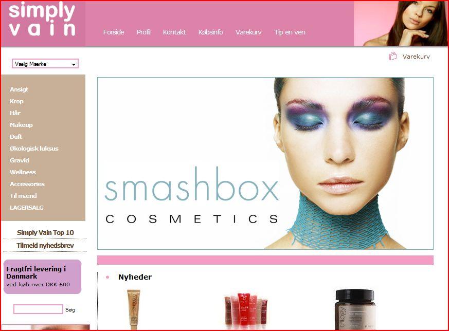 Beauty shopping – online