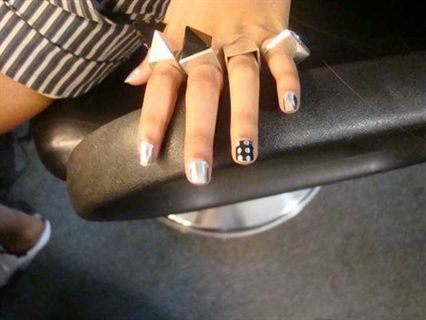 Beyonce Minx Nails