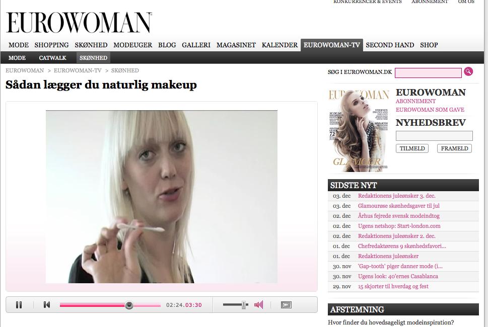 Sådan lægger du naturlig makeup – VIDEO
