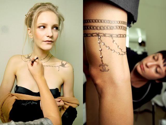 Chanel-SS-10-Tattoos