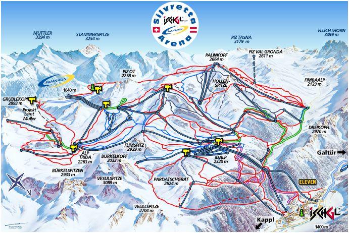 ski kort