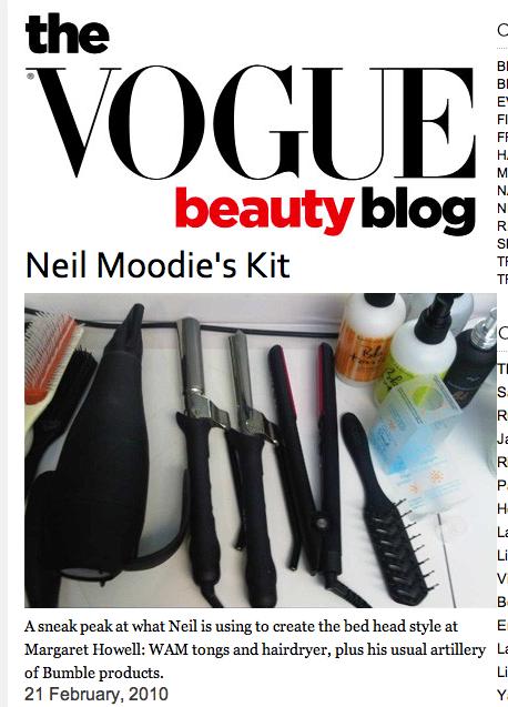 Wam bam! hårstylist Neil Moodie