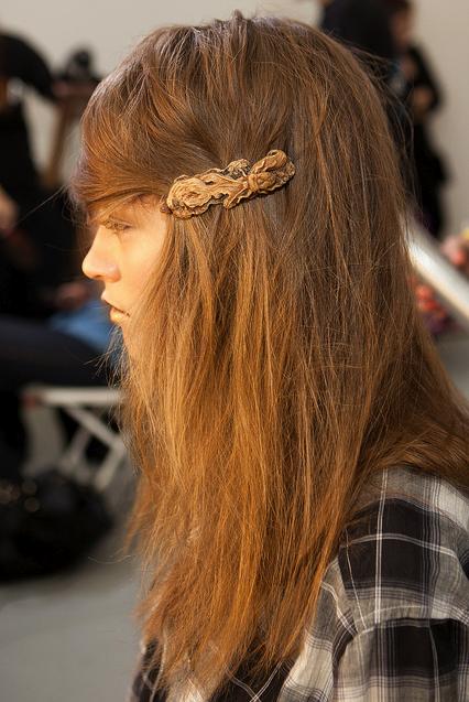 Rodartes schoolgirl hair