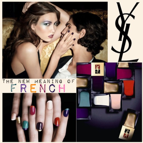 YSL couture nails