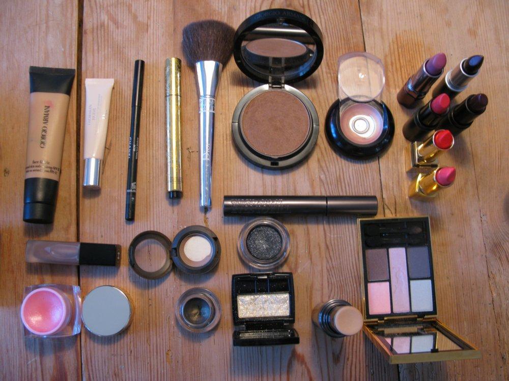 All my makeup for Paris