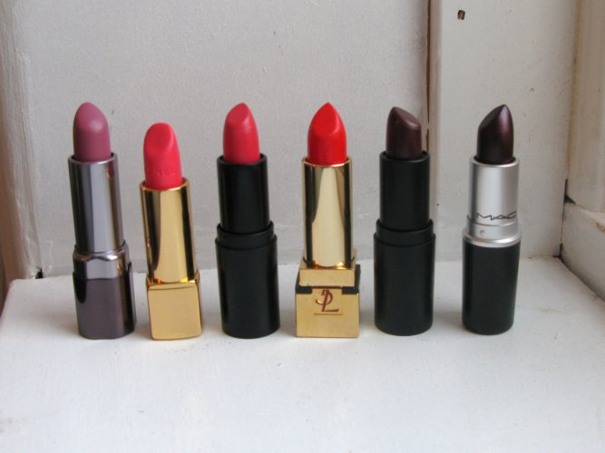 All my Lipsticks