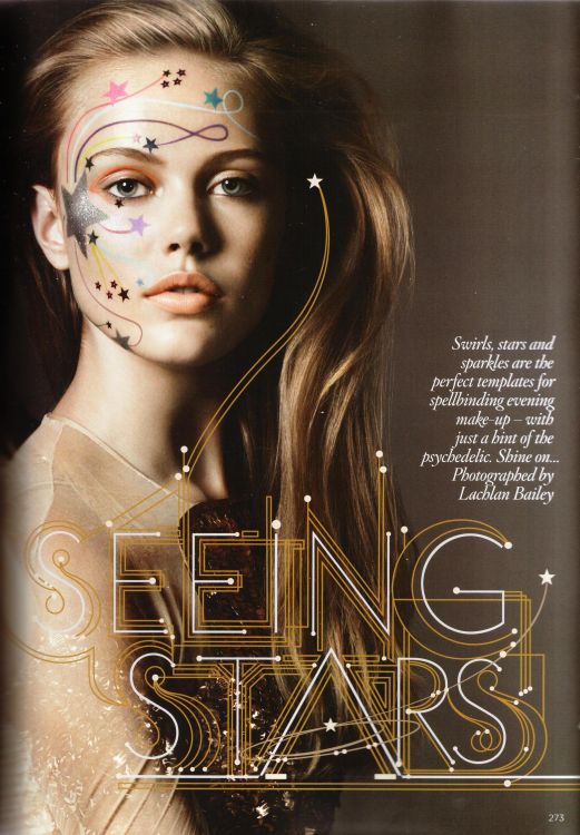 Beauty story: Seeing Stars