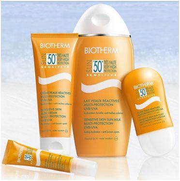 biotherm solcreme faktor 50