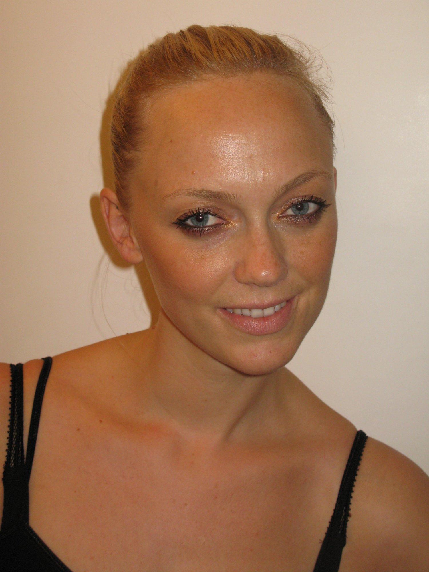 Makeup look: Bronze Goddess