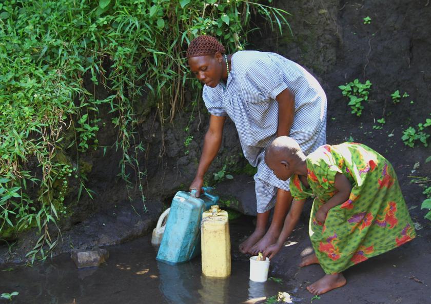 Rensning af vand i afrika