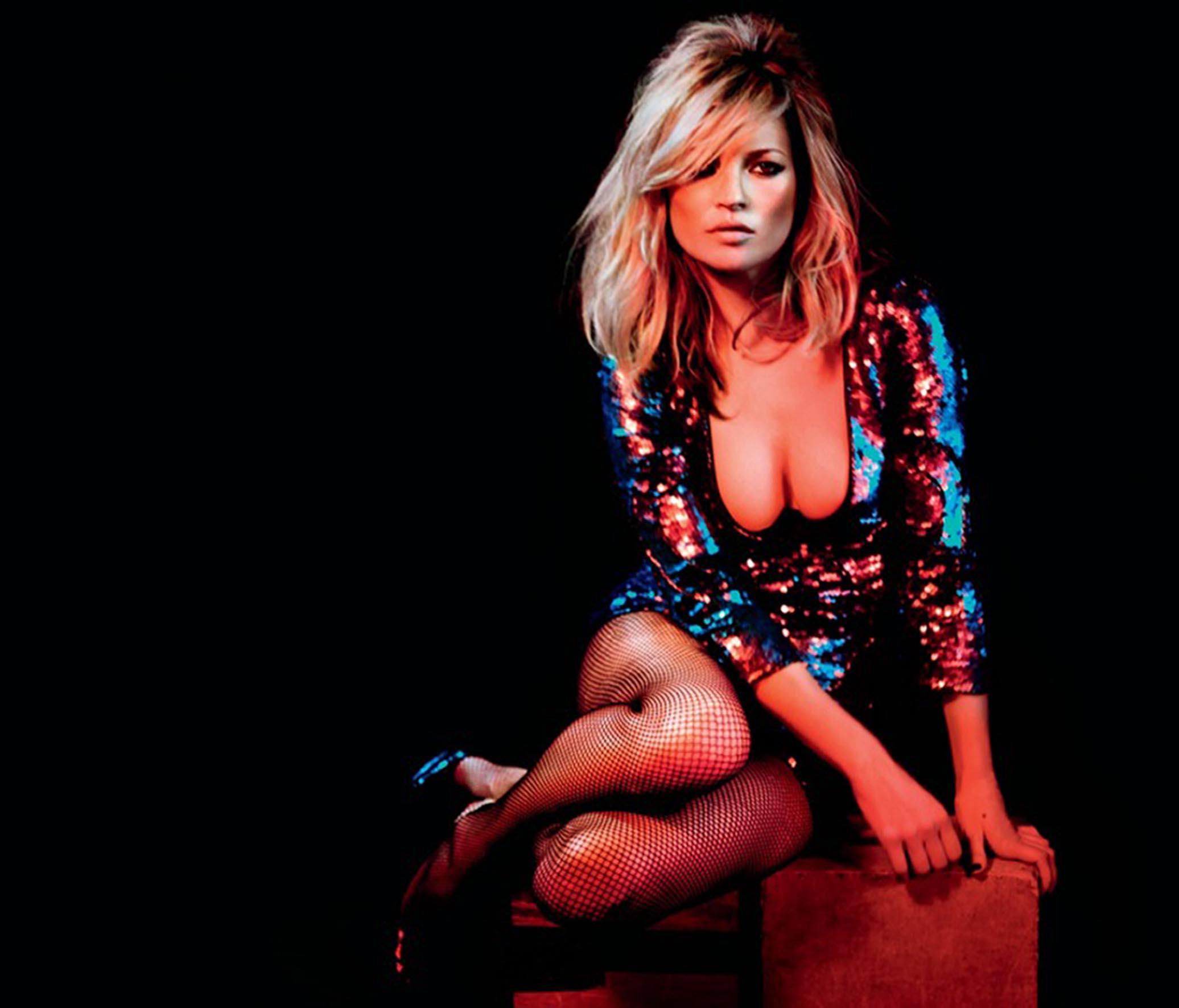 Shine like Kate Moss