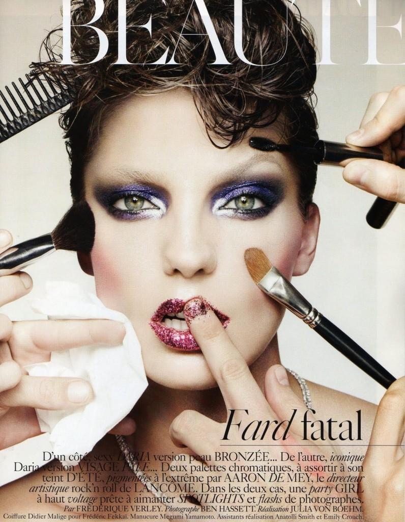 Sådan lægger du øjenmakeup med farve // Coloured eye makeup