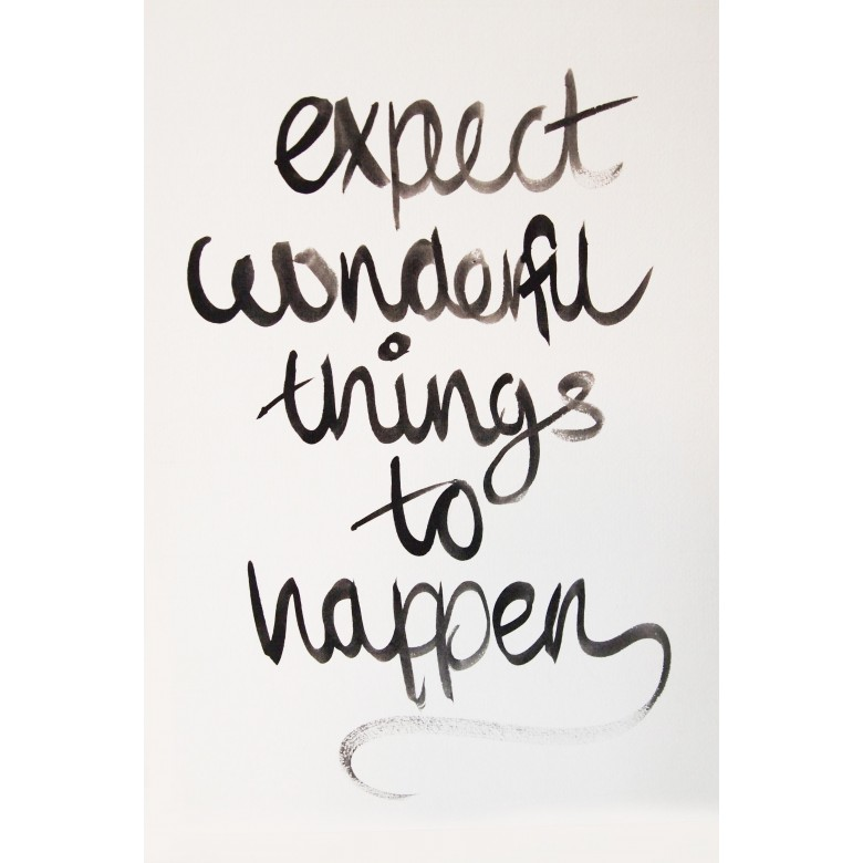 expect_wonderful_things_qoute