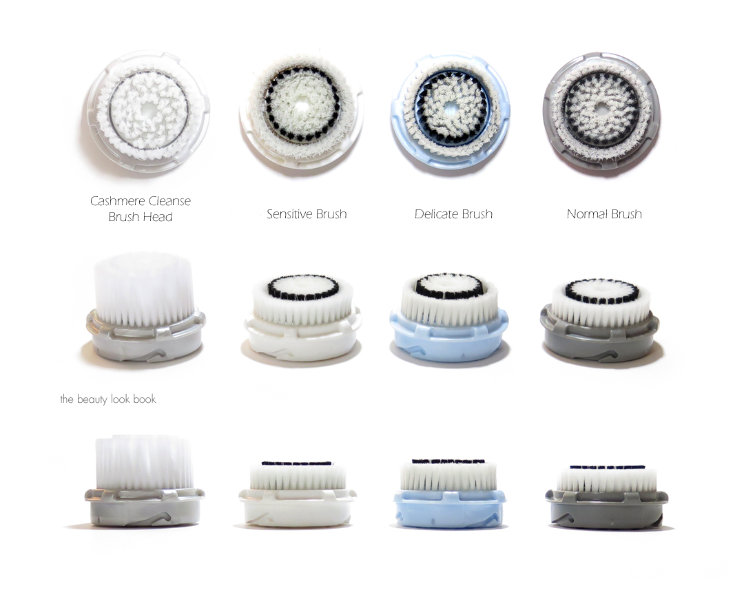 Clarisonic+Brush+Heads+Cashmere+Sensitive+Delicate+and+Normal