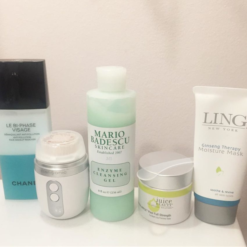 Need a good cleanse tonightand double mask! Chanel clarisonic mariobadeacuhellip