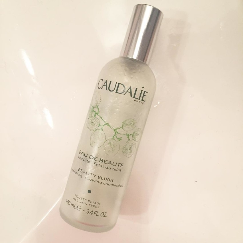 At 6am like wakeupcall workout caudalie beautyelixir moisturemist freshfeeling kultproducthellip